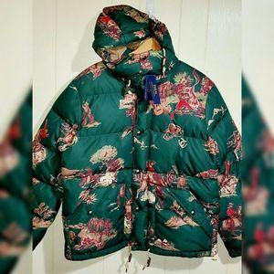 Polo Ralph Lauren Hooded Down Puffer Jacket XL 2XL